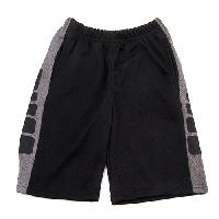 Boys (4-7) Zone X Printed Side Panel Shorts 4, Black/Charcoal