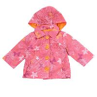 Toddler Girl Pink Platinum Floral Print Jacket 2T, Pink