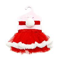 Baby Girl Toby  Headband & Tutu Set Newborn, Red