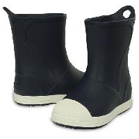 Little Kid Crocs(tm) Rain Boots - Navy/Oyster 10 M, Navy/Oyster