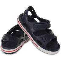 Big Kid Crocs(tm) Sports Sandals  Navy/White 1 M, Navy/White