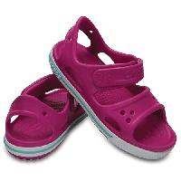 Little Girl Crocs(tm) Crocband(tm) II Sandals Violet 13 M, Violet/White