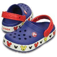 Little Boy Crocs(tm) Light up Mickey(tm) Clogs Blue 13 M, Blue/Multi