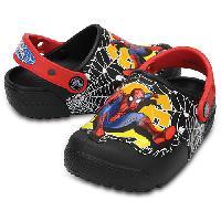 Big Boy Crocs(tm) Light up Spiderman(tm) Clogs Black 1, Black