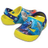 Little Kid Crocs(tm) Finding Dory(tm) Clogs-Lemon 13 M, Yellow/Multi