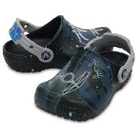Little Boy Crocs(tm) X-wing(tm) & Tie(tm) Clogs Navy 13 M, Navy