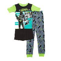Boys (4-7) Star Wars 3pc. Rouge One Pajama Set 10, Lime/Grey