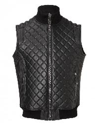 "Leather Vest ""Try"""