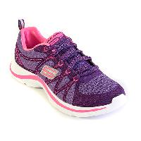Big Girls Skechers Swift Kicks Athletic Sneakers 1, Charcoal/Pink
