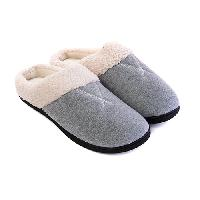 Isotoner Fleece Suri Hoodback Slippers 7/8, Sapphire