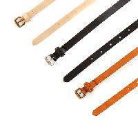 Cejon 3 For 1 Metallic & Smooth Belts L, Ivory/Black/Tan