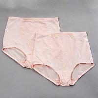 Bali 2pk. Moderate Control Brief L, Blushing Pink Jacquard