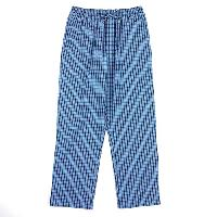 Nautica Anchor Woven Plaid Sleep Pants L, Light French Blue