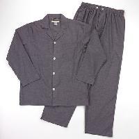 Geoffrey Beene(R) 2pc. Woven Pajama Pant Set L, Black
