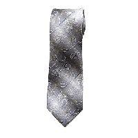 Van Heusen(R) Deco Geometric Tie , Black