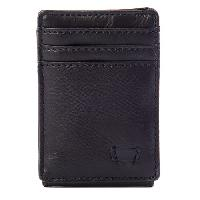 Levi's(R) Magnetic Card Case Wallet , Black