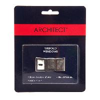 Architect Photos Insert for Trifold Wallets , Clear