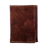 Haggar(R) RFID Antique Trifold Wallet , Brown
