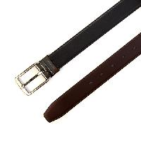 John Henry Classic Buckle Reversible Belt 32, Black