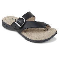 Eastland Tahiti II Flip Flop Sandals - Black 6 M, Black