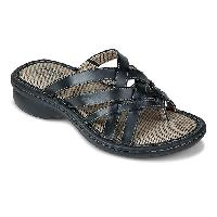 Eastland Lila Comfort Sandals - Black 6 M, Black