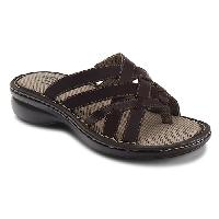 Eastland Lila Criss Cross Sandals - Brown 6 M, Brown