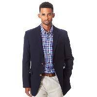 Men's Tommy Hilfiger 2 Button Oscar Blazer 36R, Navy