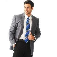 Wall Street 2 Button Blazer - Big & Tall 52L, Grey