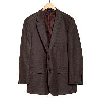 Adolfo Twill Sportcoat 44 Portly Regular, Brown