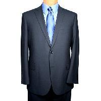 Portly Jean-Paul Germain Princeton Sportcoat-Black 44 Portly S, Black