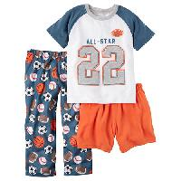 Boys Carter's(R) All Star 3pc. Pajama Set 4, Blue