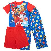 Boys Paw Patrol 3pc. Pajama Shorts Set 4, Blue