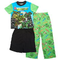 Boys  Teenage Mutant Ninja Turtles PJ Set 10, Green