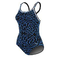 Dolfin(R) Solstice DBX Back 1pc. Swimsuit - Blue 10, Blue