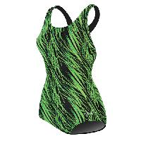 Dolfin(R) Stormy 1pc. Lap Swimsuit - Green 10, Green