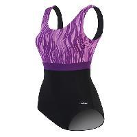 Dolfin(R) Vader Moderate Scoop Back Swimsuit-Purple 14, Purple