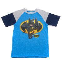 Boys (8-20) LEGO(R) Batman(tm) Bat Signal Tee 10/12, Brilliant Blue Heather