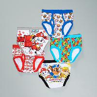 Boys (4-7) Paw Patrol 5pc. Underwear 4, White