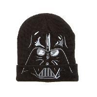 Boys (4-7) Star Wars(R) Darth Vader Beanie , Black