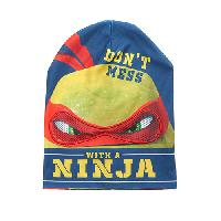 Boys(4-7) Teenage Mutant Ninja Turtles Flip Beanie , Navy