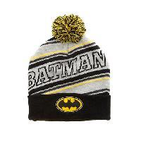 Boys (4-7) Batman(tm) Pom Pom Beanie , Black