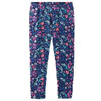 Girls (4-6x) OshKosh B'Gosh Ditsy Floral Leggings 4, Blue Multi