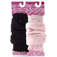 Girls (4-16) Jacques Moret Rinestone Legwarmers 4/6X, Pink
