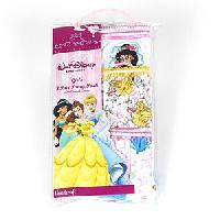 Girls Disney Princess Three Pack Cotton Panties 4, Multi