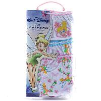 Girls Tinker Bell Underwear 4, Multi