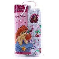 Girls Little Mermaid Ariel Three Pack Underwear 4, Multi
