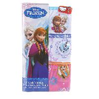 Girls (4-6x) Disney Frozen 3 Pack Underwear 4, Assorted