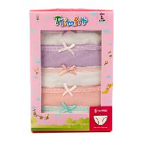 Girls Trimfit 5pk. Panties L, Multi