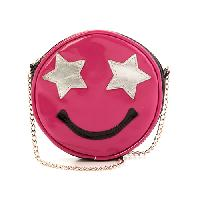 Girls Capelli Emoji Crossbody , Pink Combo