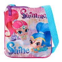 Girls Shimmer & Shine Wish Passport Bag , Pink
